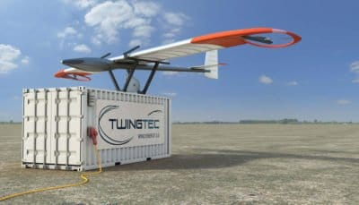 TwingTec's 100 kW drone based mobile wind energy system